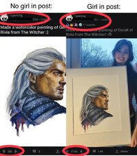 geralt fanart redditors with girl photo without girl photo being a woman is hard r gaming show...jpg